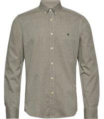 max button down shirt overhemd casual groen morris