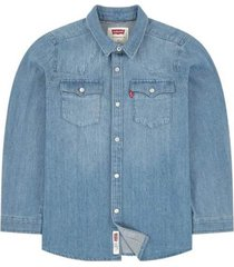 camicia jeans bambino e ragazzo