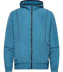 nb classic core fashion windbreaker jacket tunn jacka blå new balance