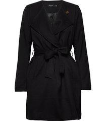 slmerle coat tunn rock svart soaked in luxury