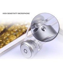 audífonos bluetooth estéreo hd manos libres inalámbricos, 106s super mini ruido de cancelación auricular estéreo audifonos bluetooth manos libres  auricular con micrófono (plata)