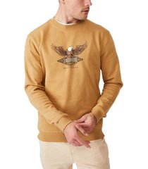 cotton on men's crew fleece t-shirt