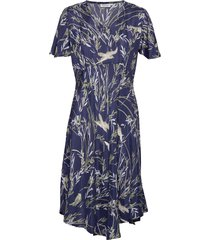 nanette jurk knielengte blauw masai