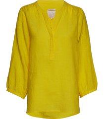 lydiapw sh blouse lange mouwen geel part two