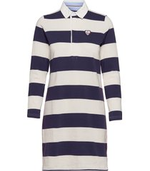 docksides rugger dress dresses t-shirt dresses blå sebago