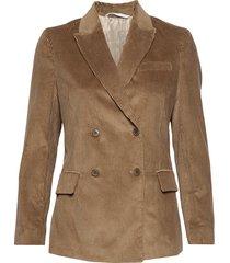 d1. wide wale cord blazer blazer brun gant