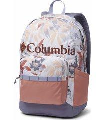 mochila poliéster zigzag 22l backpack gris columbia