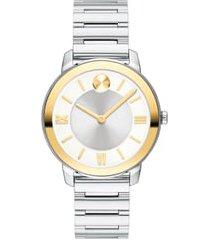 women's movado bold bracelet watch, 32mm