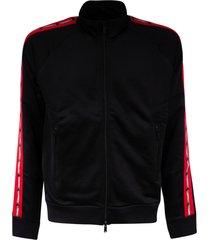 dsquared2 side stripe zipped jacket