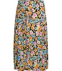 paloma, 1089 viscose jersey knälång kjol multi/mönstrad stine goya