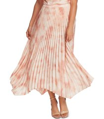 vince camuto pleated maxi skirt
