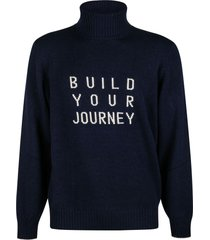 brunello cucinelli build your journey embroidered turtleneck sweater