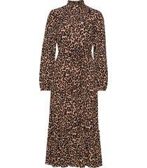 antoinette jurk knielengte bruin baum und pferdgarten