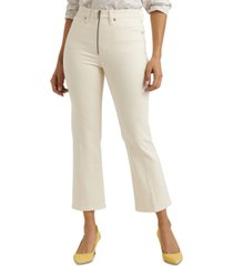lucky brand bridgette high-rise mini bootcut crop jeans