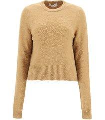 sportmax spiga wool and angora sweater