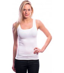 ten cate women basic shirt (30197) white( two pack)