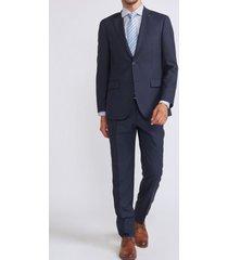 traje sartorial azul trial