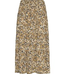 slindiana skirt knälång kjol gul soaked in luxury