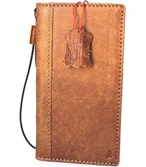 genuine leather case for samsung galaxy note 8 book wallet cover vintage brown r