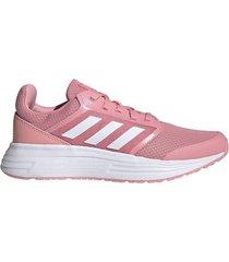 tenis running adidas galaxy 5 - rosa-blanco