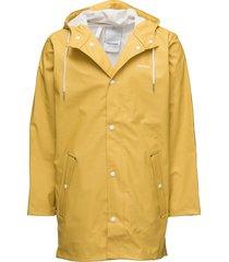 wings rainjacket regenkleding geel tretorn