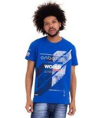 camiseta onbongo north champ masculina - masculino