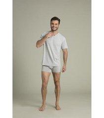 camiseta masculina recco comfort modal