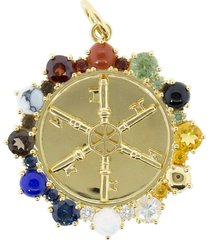 large multi-stone aether pendant