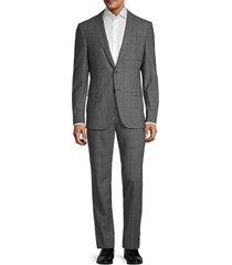 travel nestro/byte regular-fit wool suit