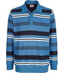 sweatshirt roger kent blauw::wit