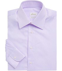 thin stripe dress shirt