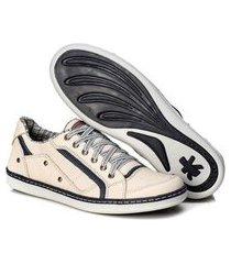 sapatenis couro tchwm shoes masculino palmilha gel conforto