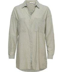 byfie yd stripe shirt - långärmad skjorta grå b.young