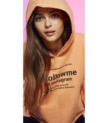 buzo naranja como quieres hoodie gia
