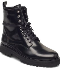 ave hiker combat boot shoes boots ankle boots ankle boot - flat svart royal republiq