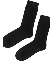 calzedonia short warm cotton socks man black size 46-47