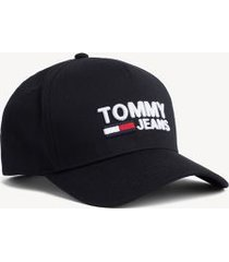 tommy hilfiger men's tommy jeans signature cap black iris -