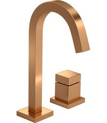 torneira para banheiro mesa cubo gold matte 1191.gl86.mt - deca - deca