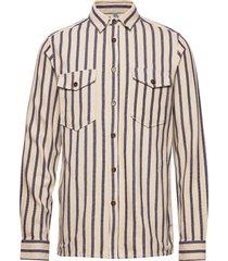 ak lion shirt skjorta casual brun anerkjendt