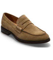 mario loafers låga skor brun vagabond