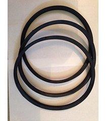 **new 3 belt replacement set** after market delta 49-124 drive set 3450 rpm m...
