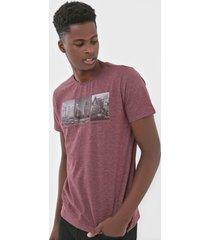 camiseta polo wear estampada bordã´ - bordã´ - masculino - algodã£o - dafiti