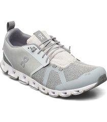 cloud terry låga sneakers grå on