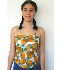 blusa bon regata laranja