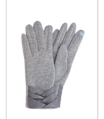 marcus adler pleated cuff jersey touch glove