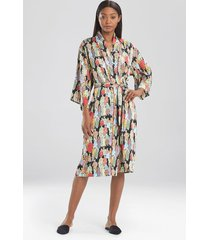 natori dynasty sleep & lounge bath wrap robe, women's, size l natori