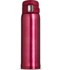 garrafa tã©rmica 450 ml sensation topget vermelha - vermelho - dafiti