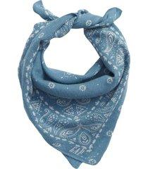 pañuelo algodón orgánico azul gap