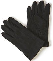 faux-suede glove