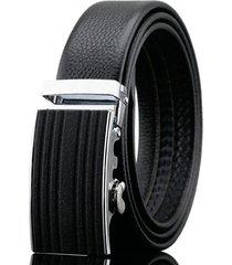 125-130cm business vera pelle cintura primo strato automatico in pelle cintura per uomo
